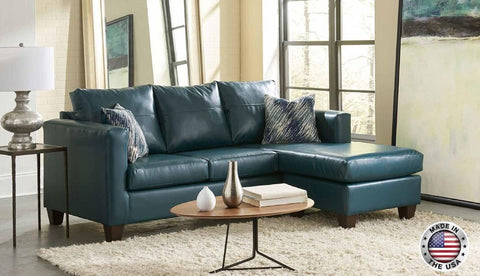Teal Sofa Chaise Sectional Set - Furniture App Online by Furniture Assistant