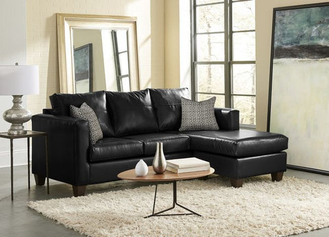 Black Sofa Chaise Sectional Set - Furniture App Online by Furniture Assistant  a Furniture Store in York PA