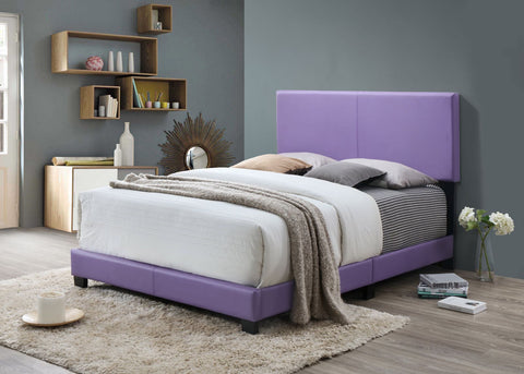 Hot Purple Leather Bed - Furniture App Online by Furniture Assistant  a Furniture Store in York PA