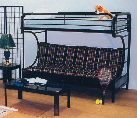 Black Futon Bunk Bed - Furniture App Online by Furniture Assistant  a Furniture Store in York PA