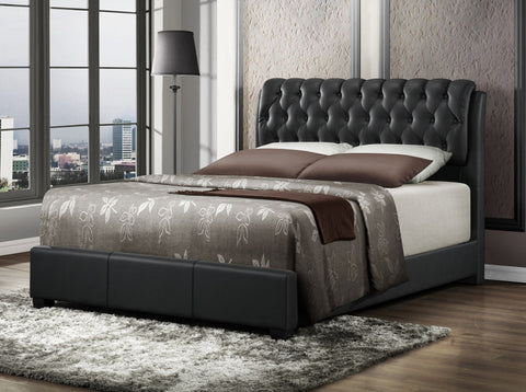 Black Tufted Bed - Furniture App Online by Furniture Assistant  a Furniture Store in York PA