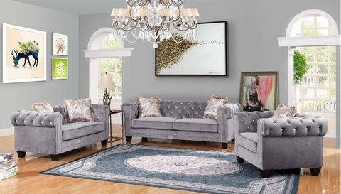 Silver Sofa Set - Furniture App Online by Furniture Assistant  a Furniture Store in York PA