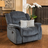 Hawthorne Fabric Glider Recliner Club Chair by Christopher Knight Home - Furniture App Online by Furniture Assistant  a Furniture Store in York PA