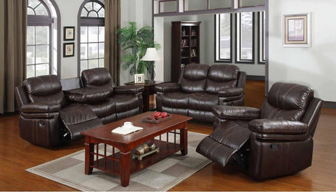 Espresso Double Reclining Sofa Set - Furniture App Online by Furniture Assistant  a Furniture Store in York PA