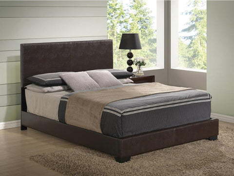 Aurora Brown Upholstered Bed - Furniture App Online by Furniture Assistant  a Furniture Store in York PA