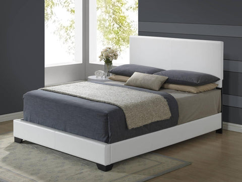 Aurora White Upholstered Bed - Furniture App Online by Furniture Assistant  a Furniture Store in York PA