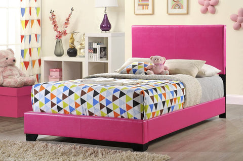 Lola Pink Youth Bed - Furniture App Online by Furniture Assistant  a Furniture Store in York PA