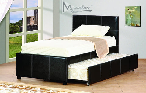 Flint Twin Bed with Trundle - Furniture App Online by Furniture Assistant  a Furniture Store in York PA