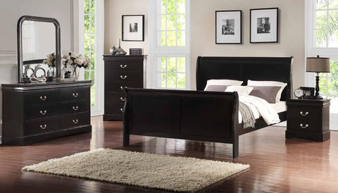 Black Sleigh Bed - Furniture App Online by Furniture Assistant  a Furniture Store in York PA
