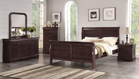 Espresso Sleigh Bed - Furniture App Online by Furniture Assistant  a Furniture Store in York PA