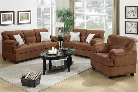 3 Piece Saddle Sofa Set - Furniture App Online by Furniture Assistant  a Furniture Store in York PA