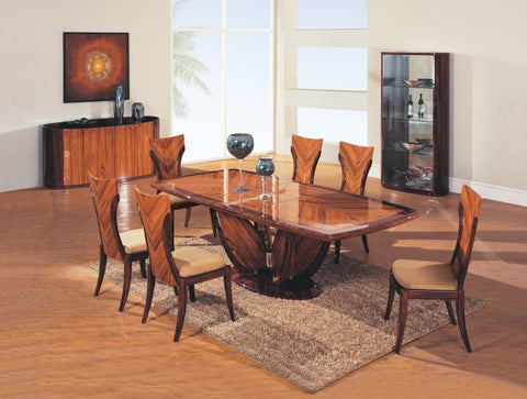 Coffee/Dark Brown 7 PCS Rectangular Dining Room Set - Furniture App Online by Furniture Assistant  a Furniture Store in York PA