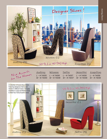 Accent Shoe Chairs - Furniture App Online by Furniture Assistant  a Furniture Store in York PA