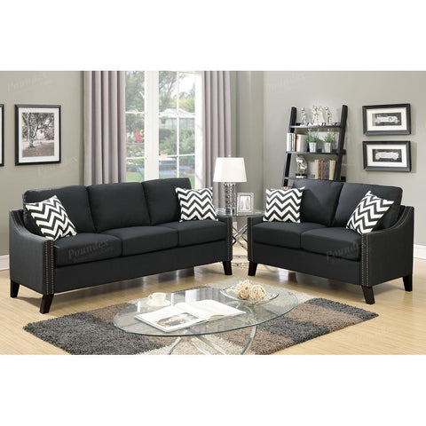 2 Piece Sofa Set with Accent Pillows - Furniture App Online by Furniture Assistant  a Furniture Store in York PA