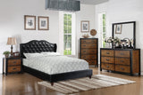 Black Upholstered Master Bed - Furniture App Online by Furniture Assistant  a Furniture Store in York PA