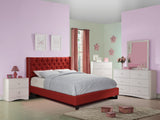 Carmine Polyfiber Platform Bed - Furniture App Online by Furniture Assistant  a Furniture Store in York PA
