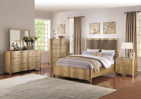 Light Brown Upholstered Master Bed - Furniture App Online by Furniture Assistant  a Furniture Store in York PA