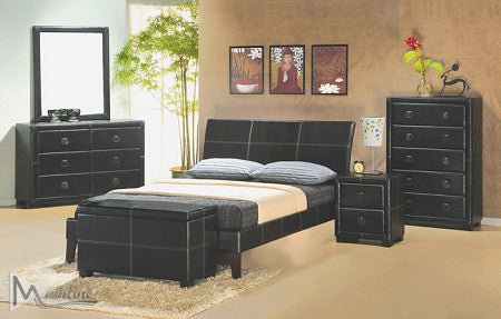 Integra Faux Leather Bed - Furniture App Online by Furniture Assistant  a Furniture Store in York PA