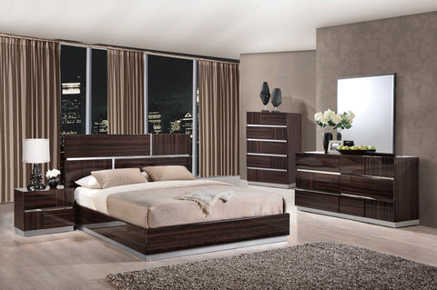Tribeca Wood Grain Bed - Furniture App Online by Furniture Assistant