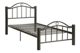 Billy Black Finish Metal Platform Bed - Furniture App Online by Furniture Assistant  a Furniture Store in York PA