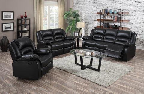 Black Leather Reclining Sofa - Furniture App Online by Furniture Assistant  a Furniture Store in York PA