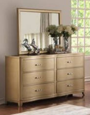 Light Brown Dresser & Mirror - Furniture App Online by Furniture Assistant  a Furniture Store in York PA