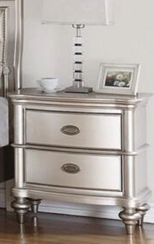 Silver Nightstand - Furniture App Online by Furniture Assistant  a Furniture Store in York PA