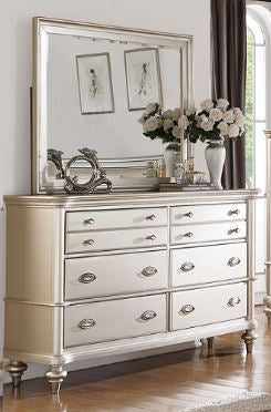 Silver Dresser & Mirror - Furniture App Online by Furniture Assistant  a Furniture Store in York PA