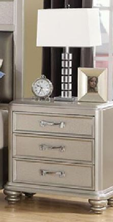 CONTEMPORARY SILVER WOOD NIGHTSTAND - Furniture App Online by Furniture Assistant  a Furniture Store in York PA