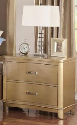 Contemporary Light Brown Wood Nightstand - Furniture App Online by Furniture Assistant  a Furniture Store in York PA