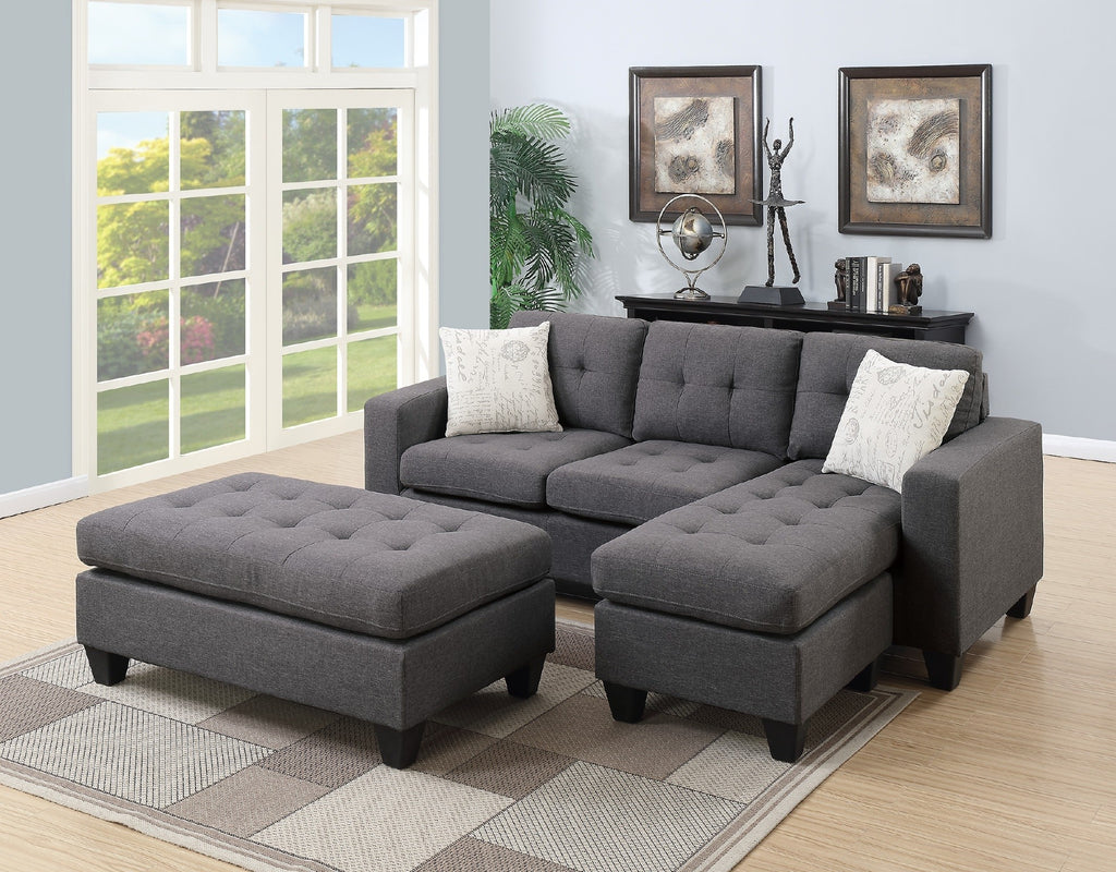 Eddy Blue Grey Reversible Sectional with Ottoman - Furniture App Online by Furniture Assistant a Furniture & Furniture App Online by Furniture Assistant a Furniture Store in ...