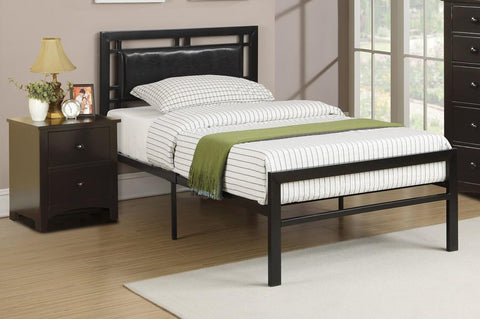 Jessica Bonded Leather/Metal Frame Kids Bed - Furniture App Online by Furniture Assistant  a Furniture Store in York PA