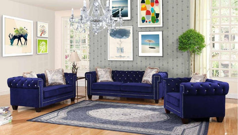 Royal Blue Sofa Set - Furniture App Online by Furniture Assistant  a Furniture Store in York PA