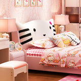 Hello Kitty Pink Leather Children Soft Sleeping Bed - Furniture App Online by Furniture Assistant  a Furniture Store in York PA
