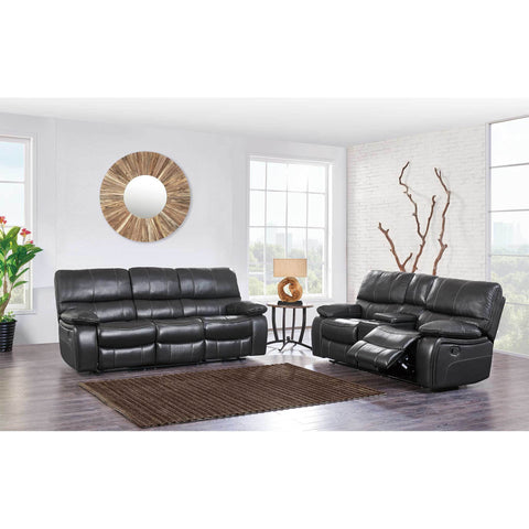 Leather Air Reclining Sofa Set - Furniture App Online by Furniture Assistant  a Furniture Store in York PA