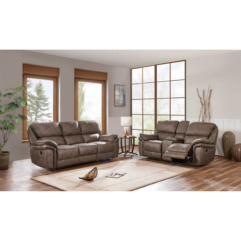 Motion Chocolate Reclining Sofa - Furniture App Online by Furniture Assistant  a Furniture Store in York PA