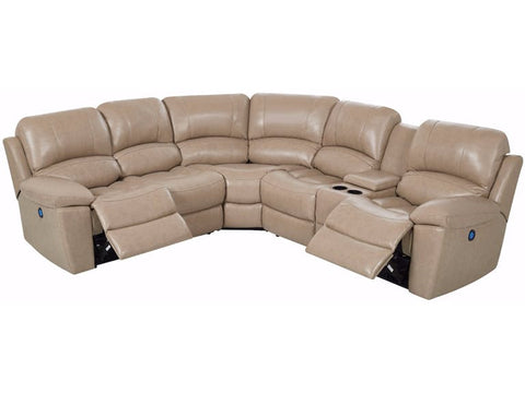 GLOVE TAN LEATHER GEL SECTIONAL - Furniture App Online by Furniture Assistant  a Furniture Store in York PA