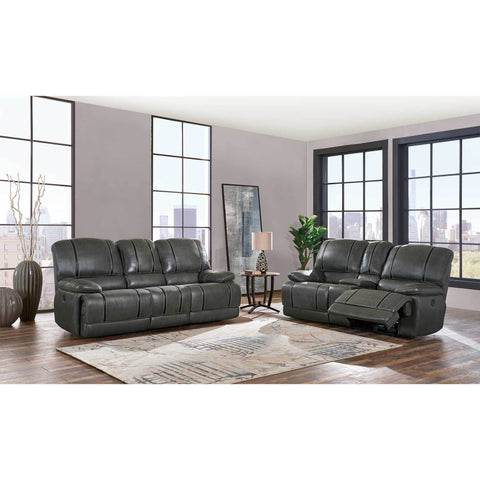 Gin Rummy Charcoal Reclining Sofa - Furniture App Online by Furniture Assistant  a Furniture Store in York PA