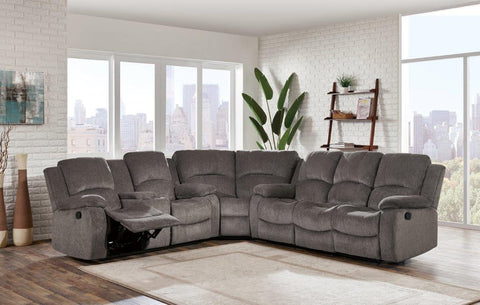 SUBARU MOCHA RECLINING SECTIONAL