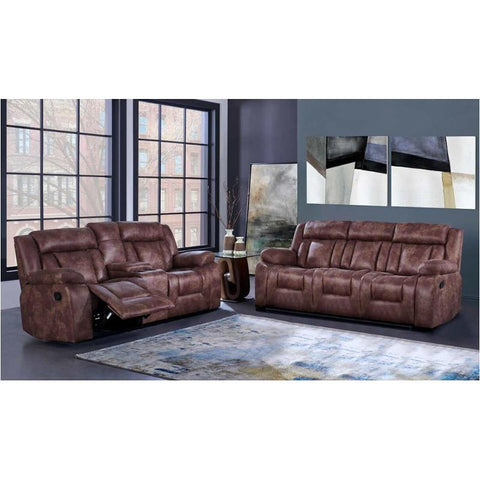 MODERN BROWN CAMEL LEATHER RECLINING SOFA - Furniture App Online by Furniture Assistant  a Furniture Store in York PA