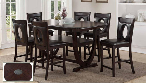 Epresso Counter Height Dinning Set - Furniture App Online by Furniture Assistant  a Furniture Store in York PA