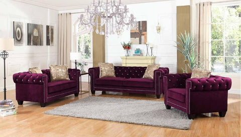 Purple Sofa Set - Furniture App Online by Furniture Assistant  a Furniture Store in York PA