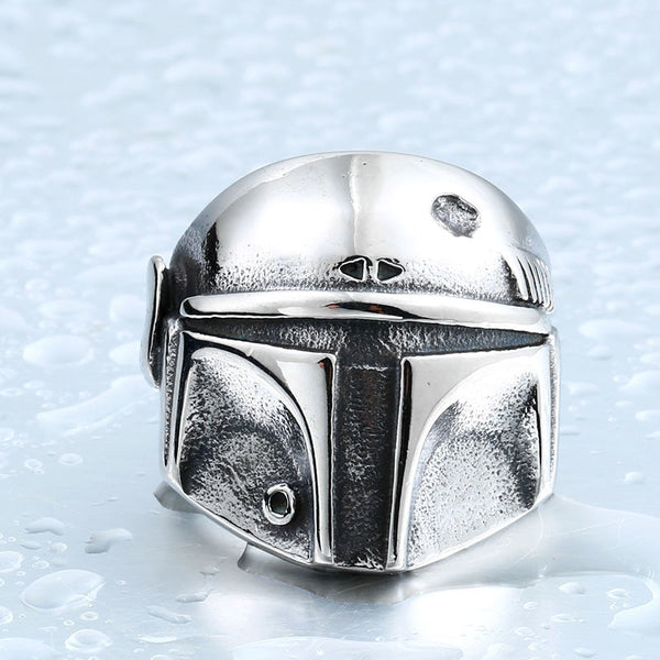 Boba Fett Stainless Steel Ring