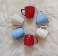 Unbreakable multicolor tea cups (Set of 6) - Classic Collection