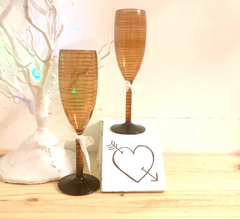 Non Breakable Champagne Glass Gift Set - Ceramic