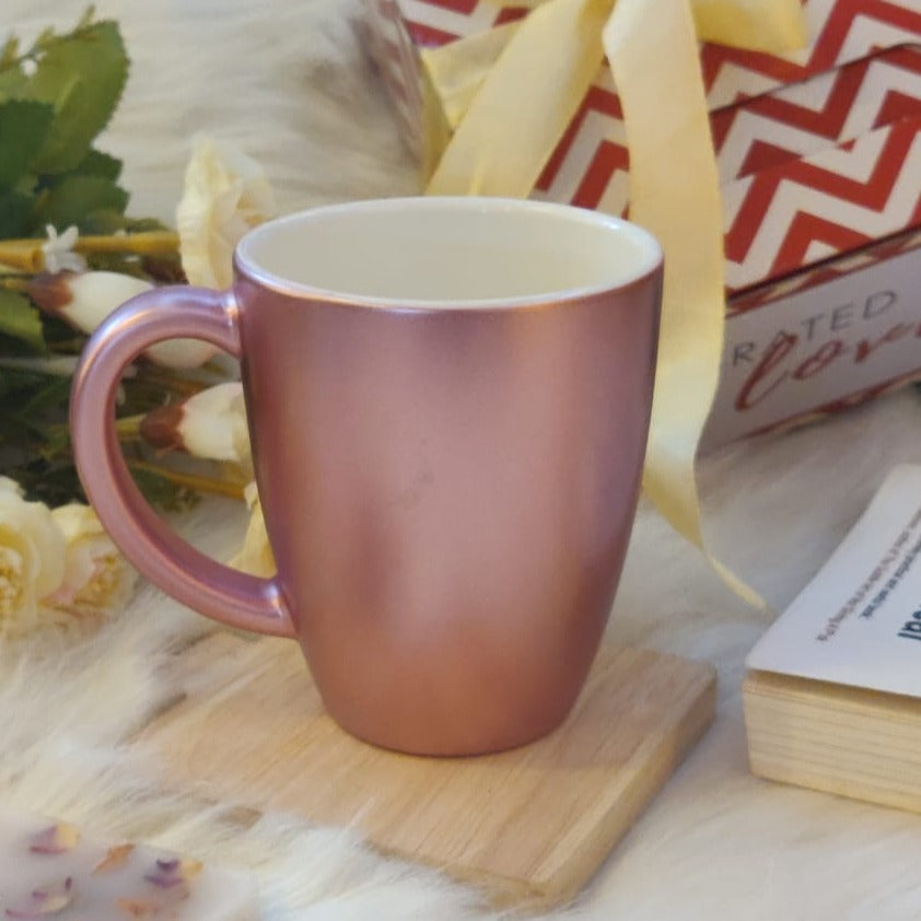 Unbreakable Rose Gold Mug - Set of 1