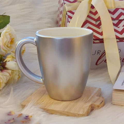 Unbreakable Silver Mug - Set of 1