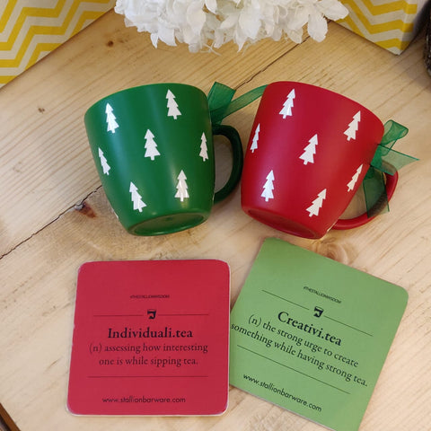 Unbreakable Christmas Cups - Set of 2