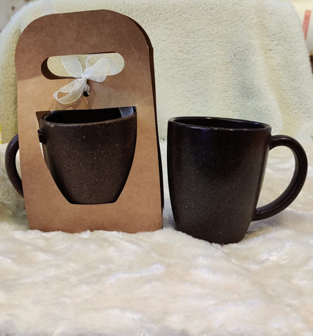 Coffee Husk Coffee Mug - Set of 2 (300 ml) Harvest