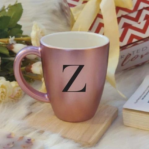 Initials Mug - Rose Gold